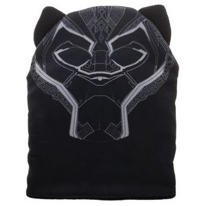 2cb6b261295f4 Bioworld Accessories - Black Panther Beanie Hat Big Face Cat Ears MARVEL